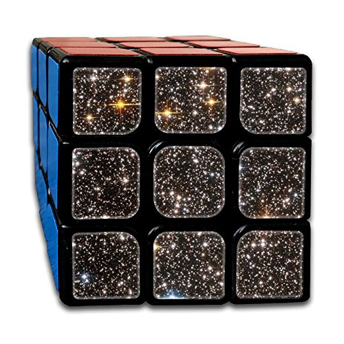 AVABAODAN Blink Star Rubik's Cube Original 3x3x3 Magic Square Puzzles Game Portable Toys-Anti Stress For Anti-anxiety Adults Kids by AVABAODAN