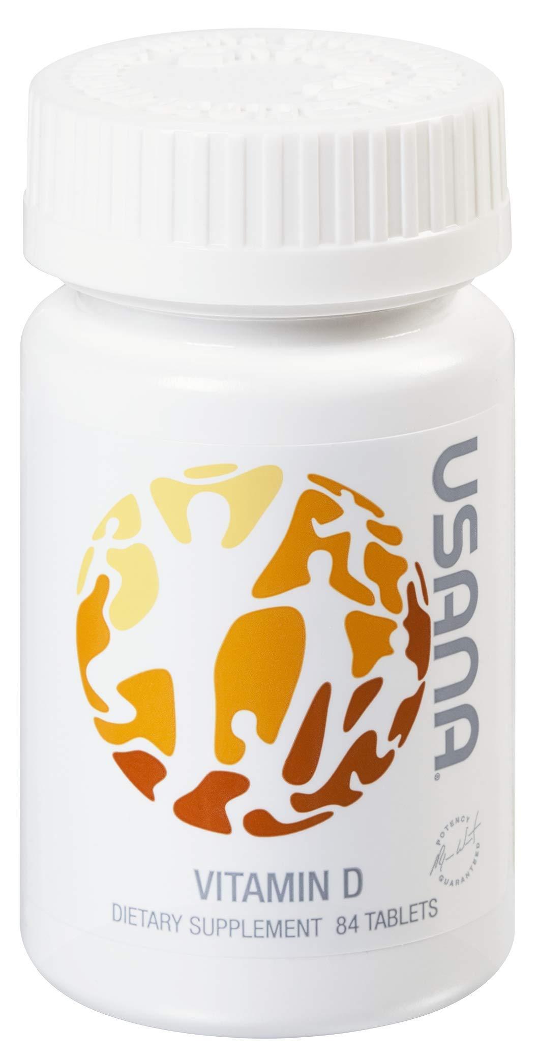 USANA Vitamin D Dietary Supplement - 84 Count