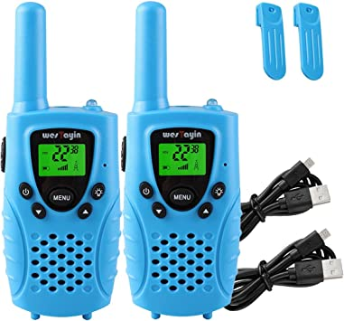 Amazon.com: WesTayin Walkie Talkies - Mallas para niños T3 ...