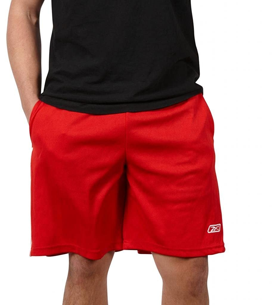 Reebok Men's Performance Basketball Shorts with Pockets