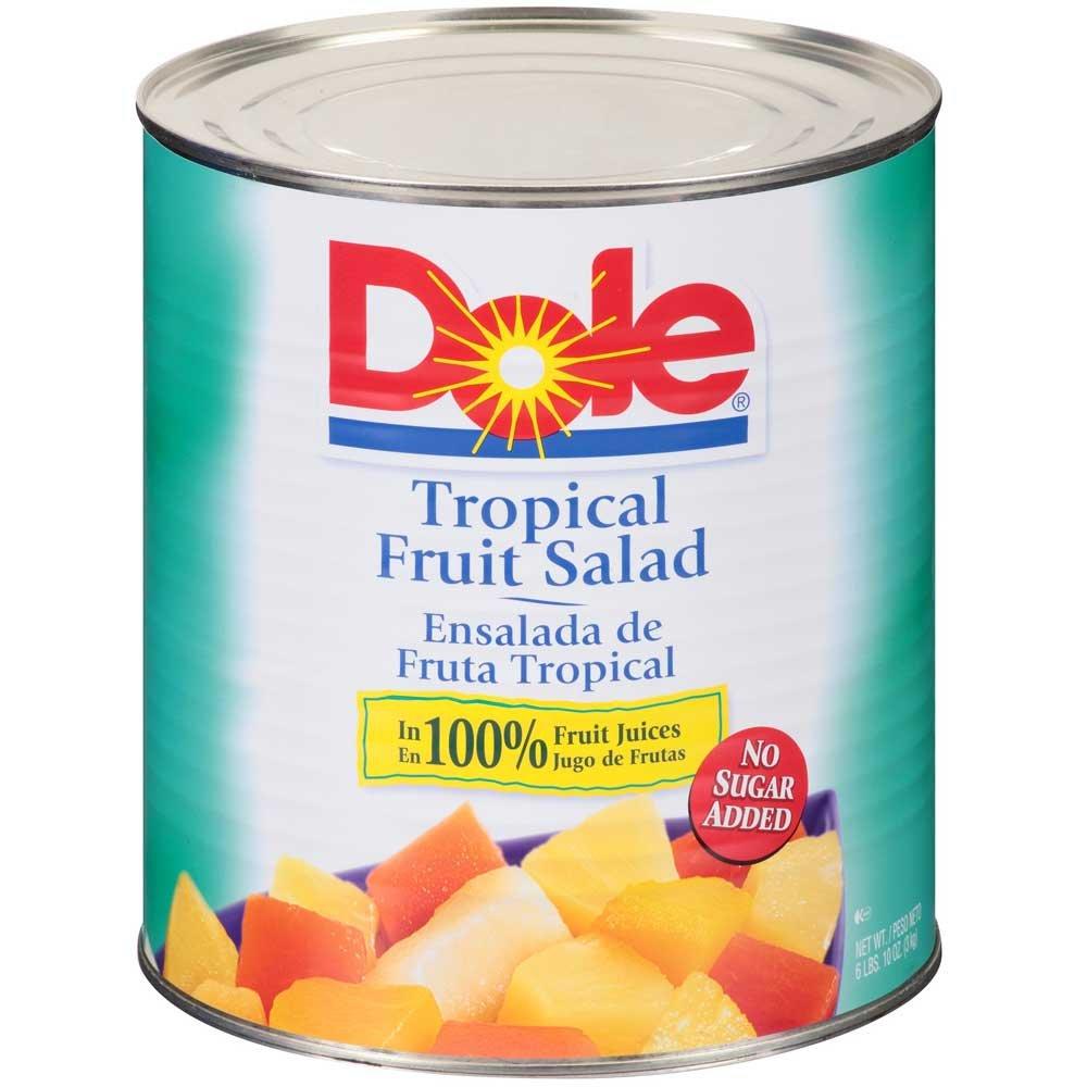 Dole Tropical Fruit Salad, 106 Ounce - 6 per case.