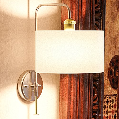 (Luxury Cosmopolitan Wall Sconce, Small Size: 17.5