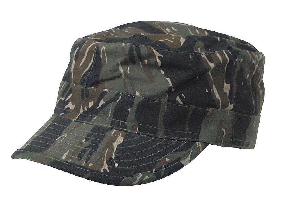 mfh bdu  MFH BDU Ripstop Field Cap Tiger Stripe size S at Amazon Men's ...