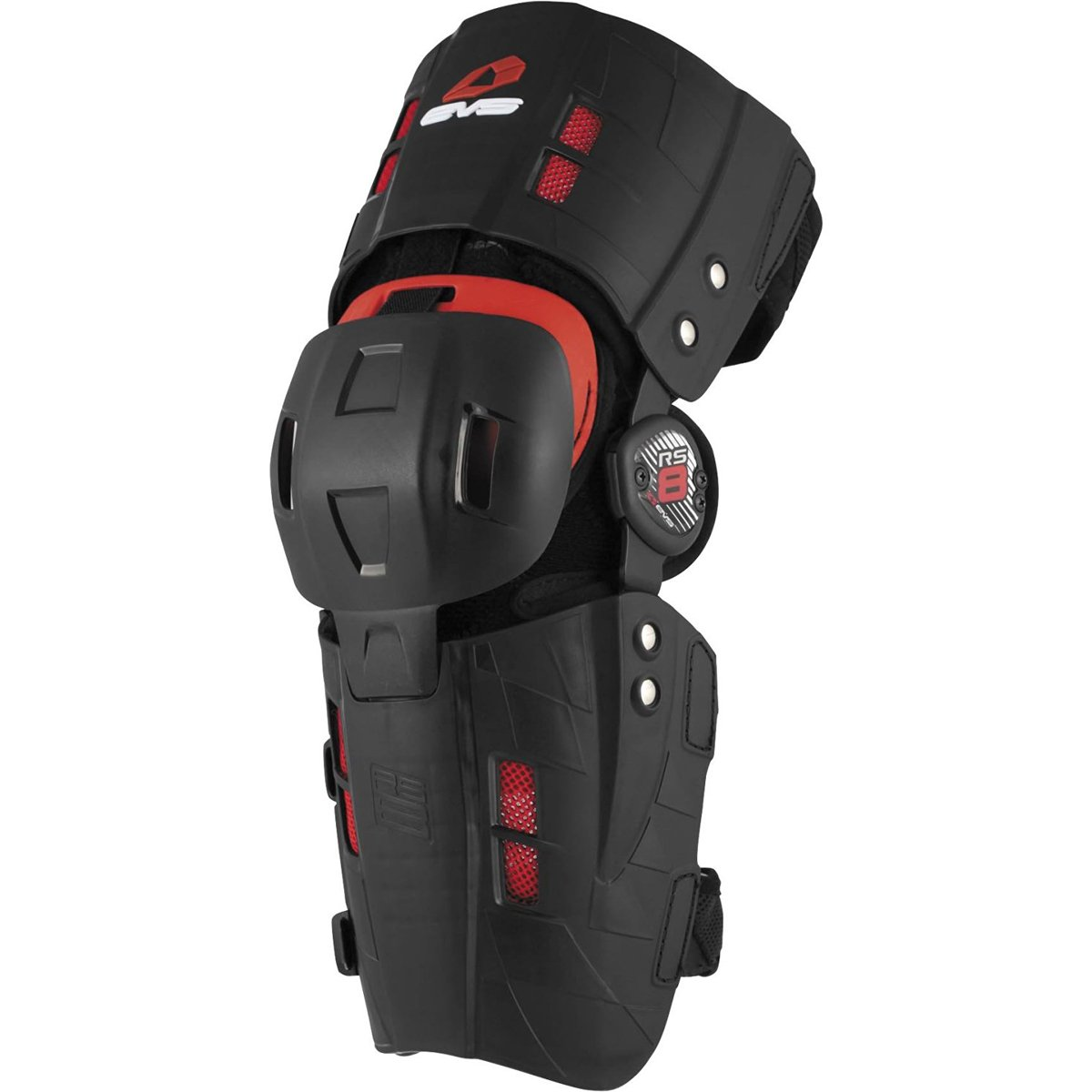 EVS RS-8 Knee Brace - Left , Distinct Name: Black, Size: XL, Primary Color: Black, Gender: Mens/Unisex RS8-XL