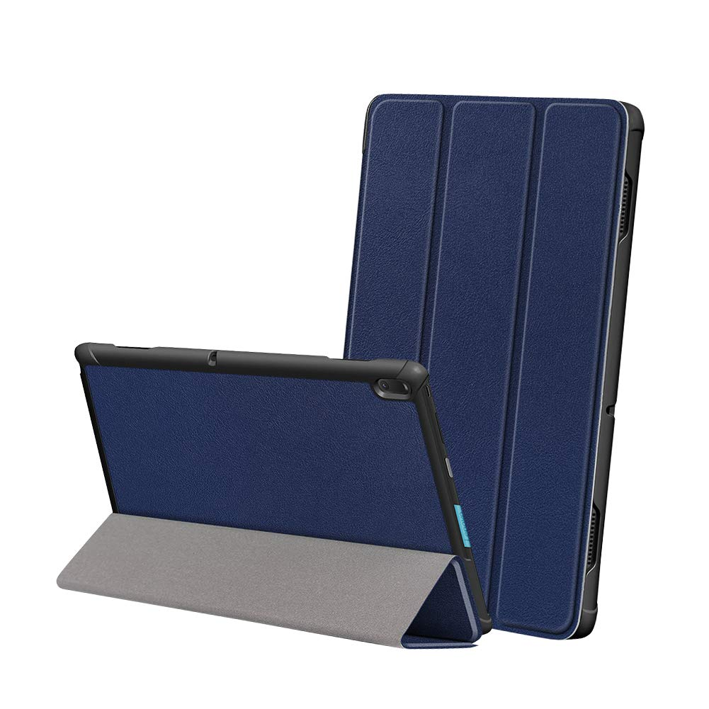 Yudesun Case for Lenovo Tab E10 Lightweight PU Leather Slim Shell Stand Protective Hard Cover Case for Lenovo Tab E10 TB-X104F 10.1 Inch Tablet