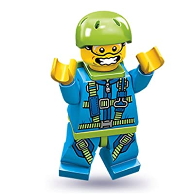 Lego Series 10 Skydiver Mini Figure: Toys & Games