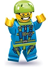 Lego Series 10 Skydiver Mini Figure