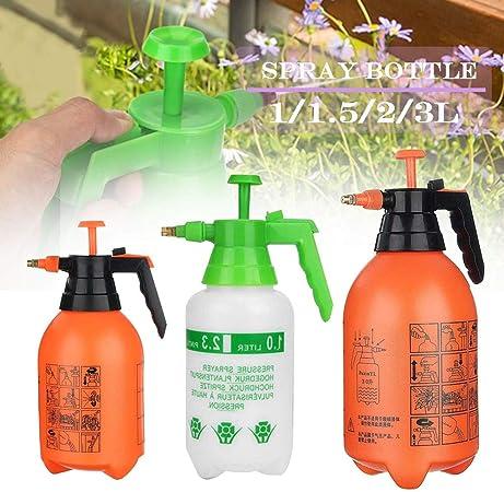 MZY1188 Pulverizador de presión Manual, Botella de Spray de jardín, Herramienta de rociador de riego de riego de Flores de Plantas, Botella de Spray multipropósito para el hogar y el jardín: Amazon.es: