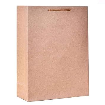 Bolsa de papel Kraft Bolsa de papel para compras Banquete ...
