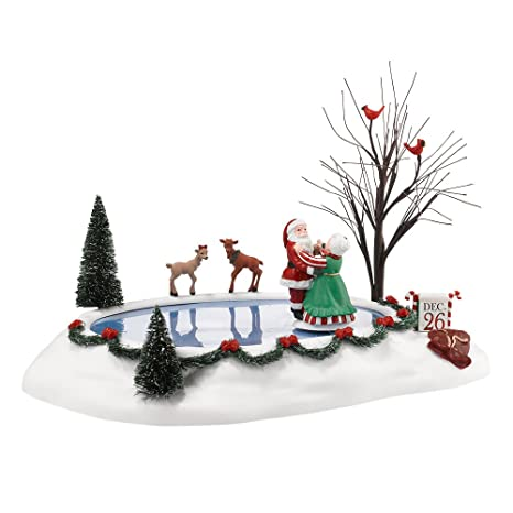 Department 56 Christmas Village Display.Department 56 Accessories For Villages Christmas Waltz Animated Accessory Figurine 2 95 Inch
