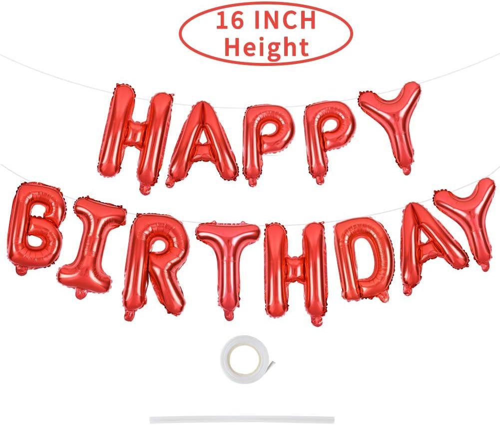 Amazon.com: Globo de cartas de cumpleaños: Health & Personal ...