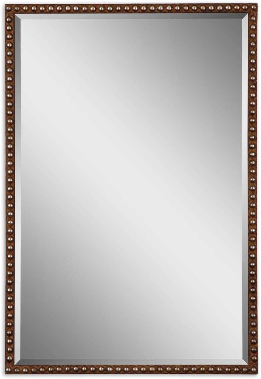 Uttermost, Brown Tempe Mirror 1.25 x 21.5 x 31.75, 21 W x 31 H