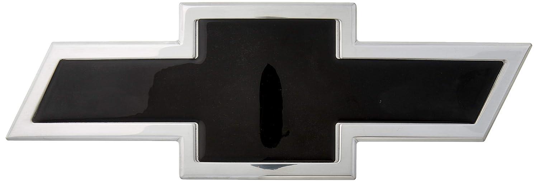 AMI 96295KP Chevy Bowtie Grille Emblem 1 Pack Polished//Black Powder coat