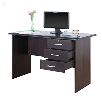 Royal Oak Bell Office Table Chocolate Amazonin Home Kitchen