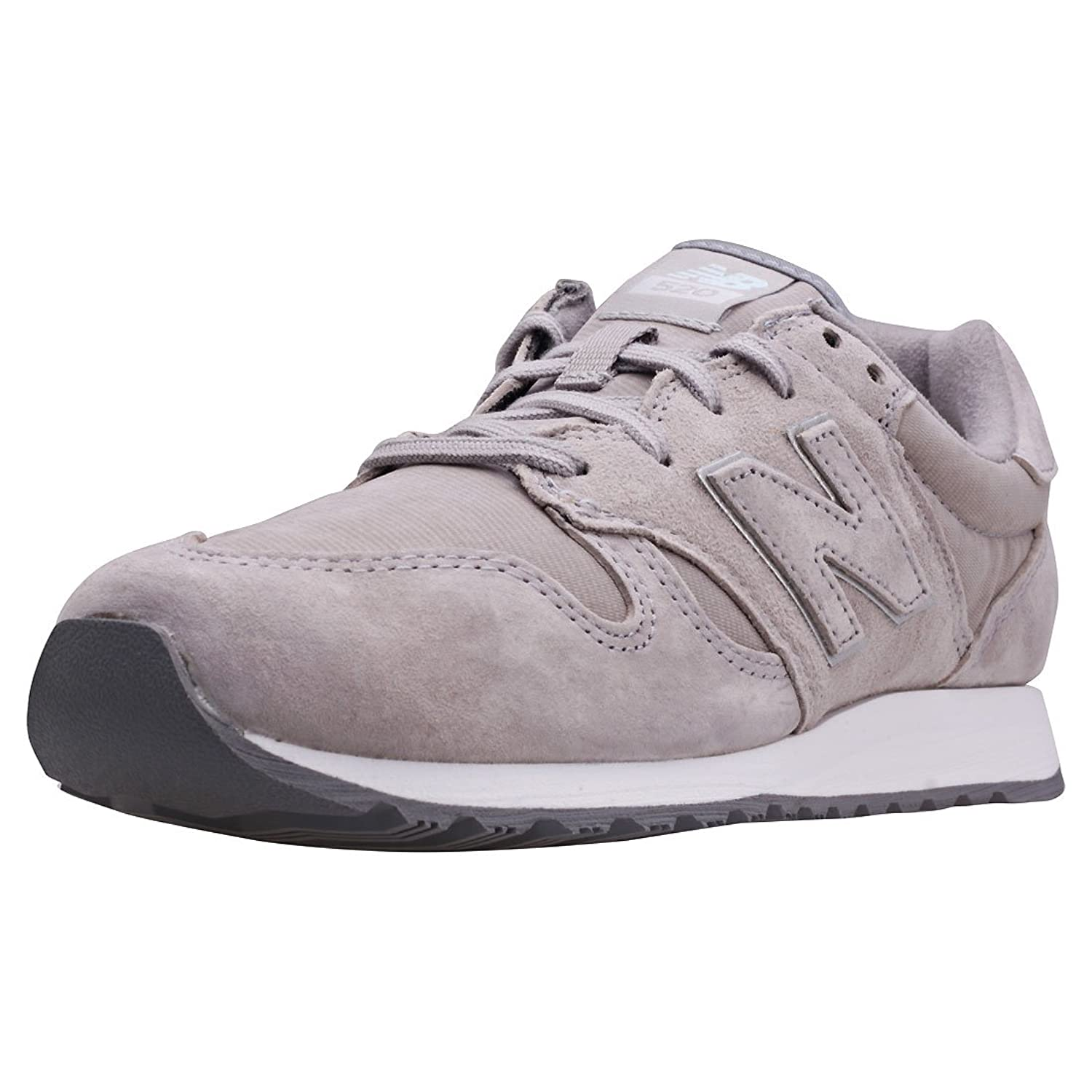 New Balance Wl520 Core Classic Womens Grey Suede & Textile Trainers