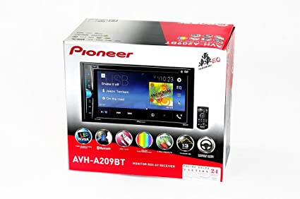 PIONEERAVH-A209BT Monitor RDS AV Receiver