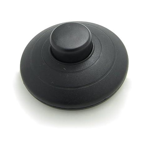 Interruptor para lámpara (para pie), negro, E305
