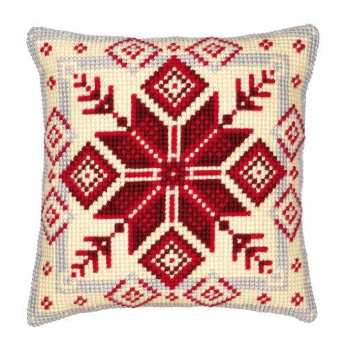 Amazon.com: Vervaco Geometric 1 Chunky Cross Stitch Cushion ...