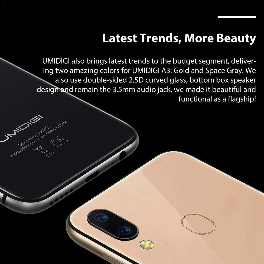 UMIDIGI A3 Smartphone Global Band, 5.5