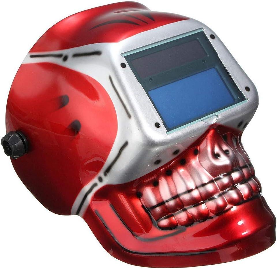 MáQuina Soldadura MáScara Soldadura Tapa Protectora Gafas ProteccióN Contra RadiacióN Montaje Cabeza EnergíA Solar AtenuacióN AutomáTica ArgóN Soldadura Por Arco Tig Mig,skull