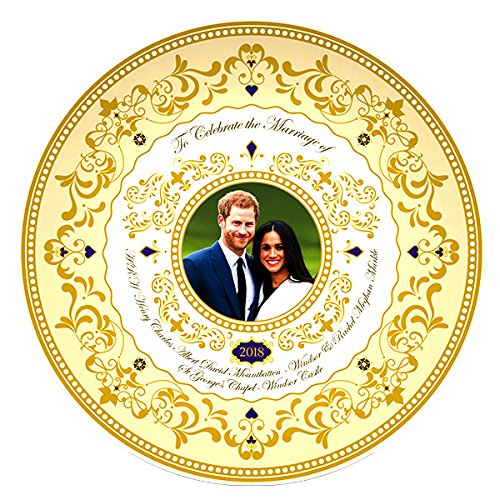 H.R.H. Prince Harry & Meghan Markle Royal Wedding 19th May 2018 Commemorative Fine China 8