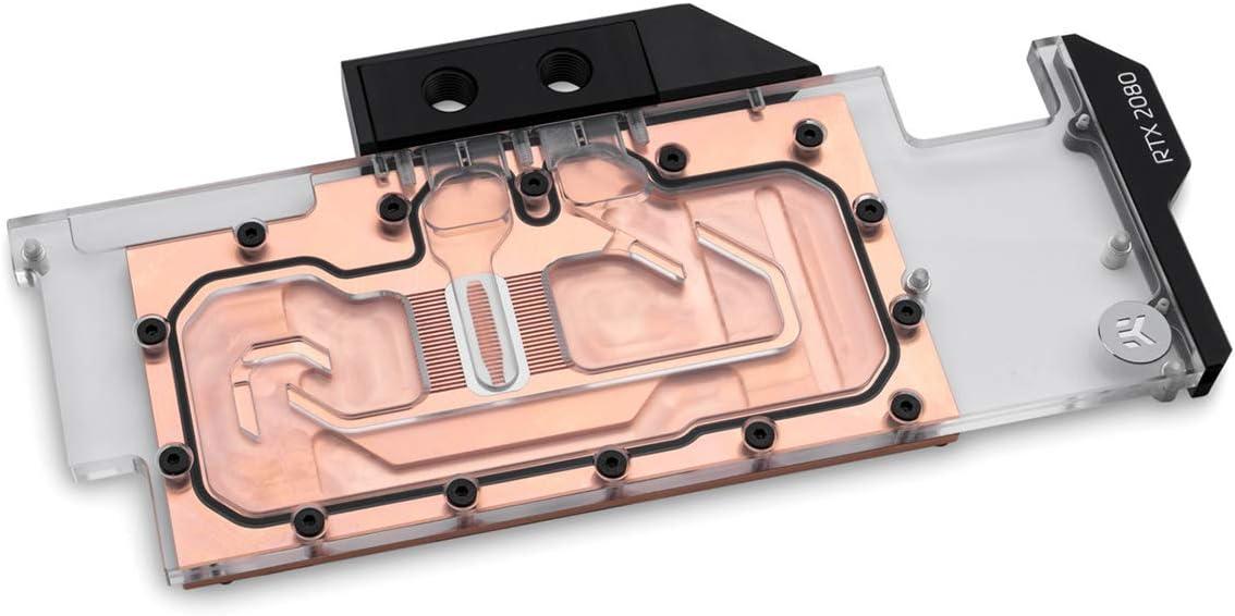 EKWB EK-Vector RTX RE 2080 GPU Waterblock, Copper/Plexi