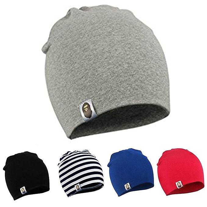 Cappello Bambino Unisex Neonato Berretto di Cotone - YJWAN Berretto Lungo  in Jersey d1707f514ad5