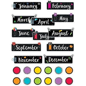 Amazon.com: Creative Teaching Prensa Calendario Gráfico ...