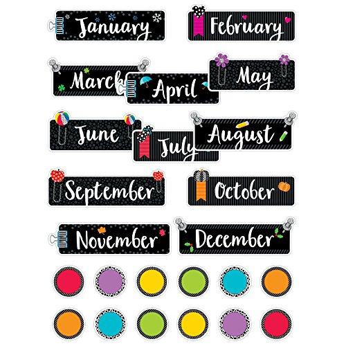 Creative Teaching Press Mini Bulletin Board Academic Calendar (1172)