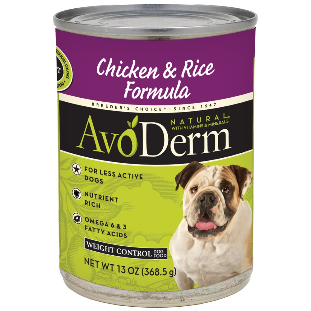 AvoDerm Natural Weight Management Dry and Wet Dog Food, Healthy Skin Coat