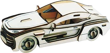 Webby 3D DIY Wooden Sports Car Jigsaw Puzzle