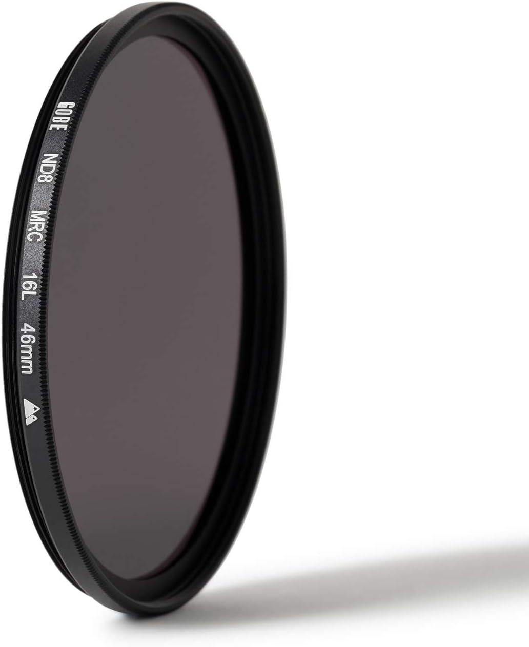 Gobe 43mm ND8 3 Stop 2Peak ND Lens Filter