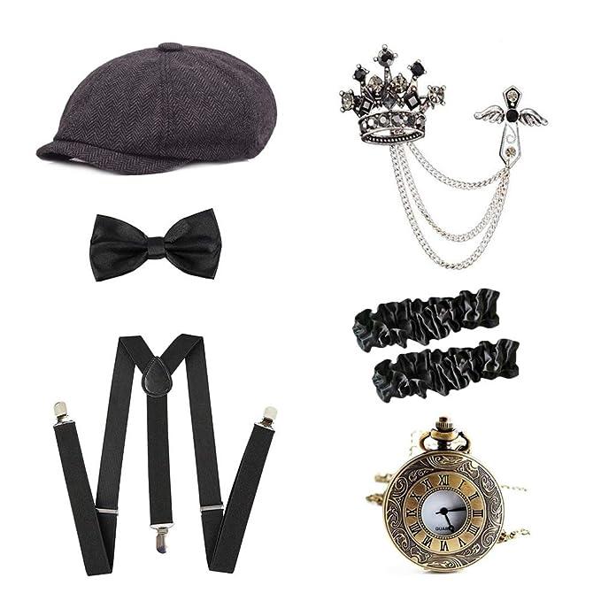 Amazon.com: MaiYi 1920s - Juego de accesorios para disfraz ...