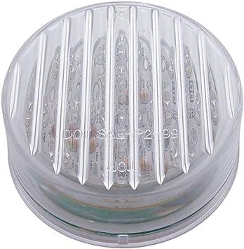Blue LED//Clear Lens 13 LED 2 1//2 Auxiliary//Utility Light