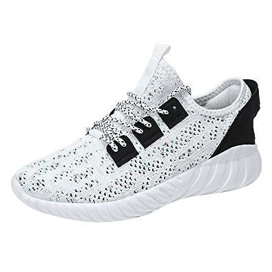 c6ea452c76c56c ELECTRI Hommes Mode Sneakers Athlétique Sneakers Occasionnels Chaussures de  Sport Absorption des Chocs Respirant en Plein