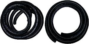 PRO 1 Fuel Line Hose 1/4 Inch and 5/16 Inch Inside Diameter X 5 Feet Length NRB/PVCC SAE30R6 2 Piece Bundle