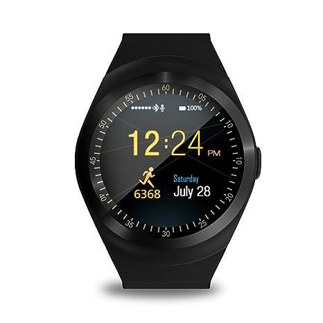 Smartwatch KKCITE de 1,54 pulgadas, pantalla táctil, 2 G, tarjeta ...