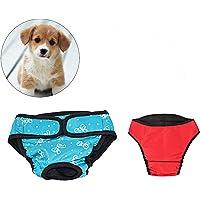 UEETEK 2 PCS Pet Dog Puppy Pañal Sanitario