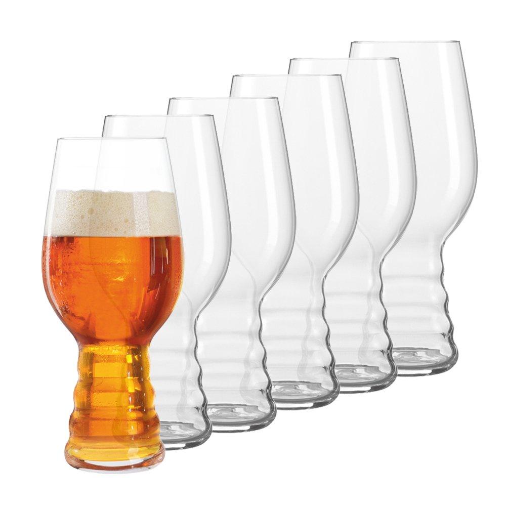 Spiegelau Beer Classics IPA Glass, Set of 6 Crystal of America 499 17 82