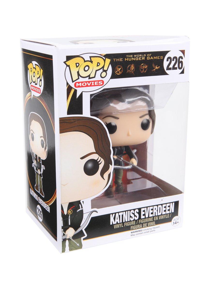 Funko The World Of The Hunger Games Pop! Movies Katniss Everdeen Vinyl Figure