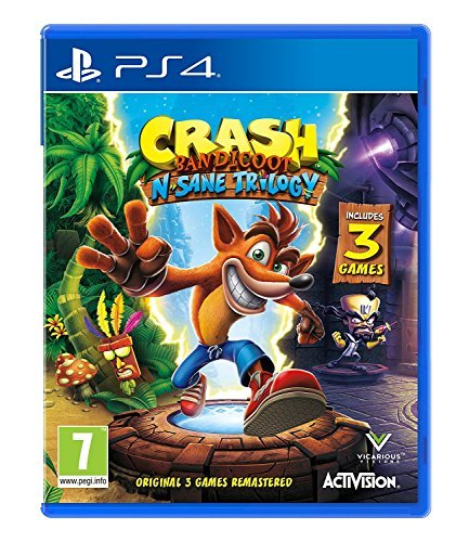 Crash Bandicoot N. Sane Trilogy - Playstation 4 PS4 (Crash Bandicoot Video Game)