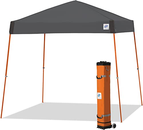 E-Z UP Vista Instant Shelter Canopy, 10 by 10 , Steel Grey