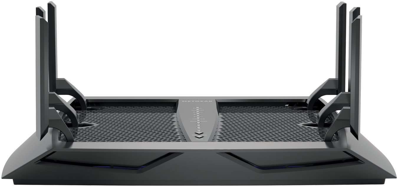 NETGEAR Nighthawk X6 AC3000 Dual Band Smart WiFi Router, Gigabit Ethernet, Compatible with Amazon Echo/Alexa (R7900) 2 3.0Gbps—Fast combined WiFi speed for uninterrupted streaming Tri-Band MU-MIMO—Simultaneous streaming to more devices 1.8GHz dual-core processor delivers lag-free gaming