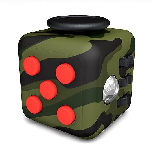 63 opinioni per Tepoinn Fidget Cube con 6 funzioni Dadi di StressAgitarsi Cube Allevia lo