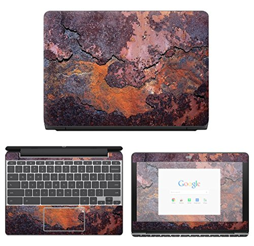 Decalrus - Protective Decal Skin Sticker for HP ChromeBook 1