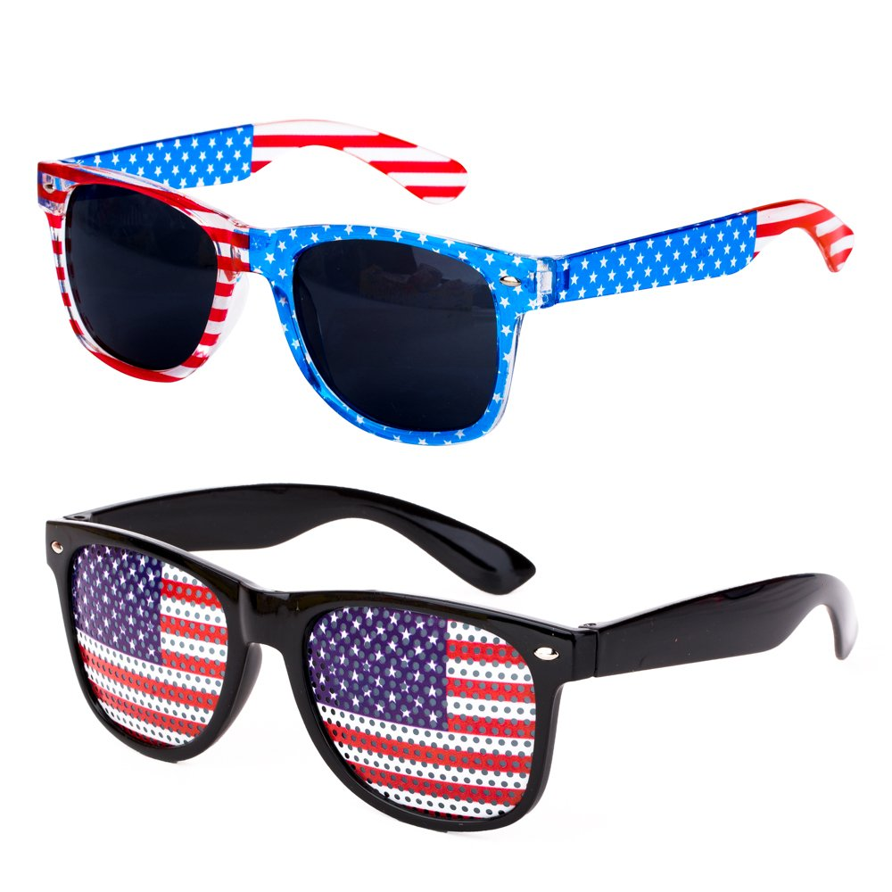 Amazon.com: PROLOSO - Gafas de sol decorativas de plástico ...