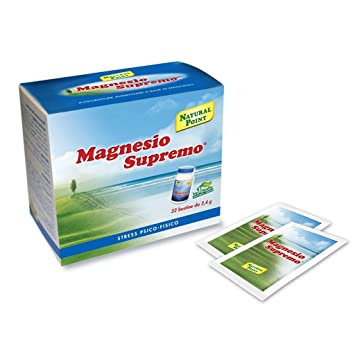 NATURAL POINT MAGNESIO SUPREMO SOLUBILE 32 BUSTE by NATURAL POINT