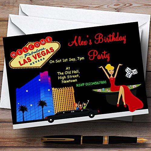 Casino Las Vegas tema personalizado fiesta de cumpleaños ...