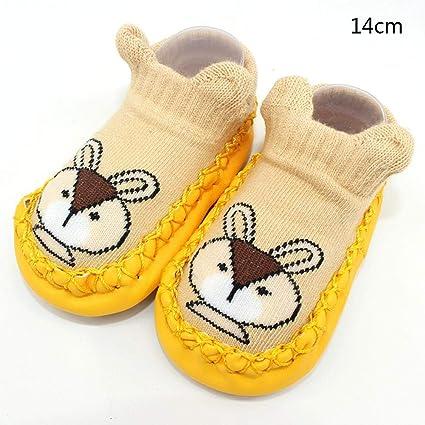 draulic algodón suelo Calcetines Niños Dibujos animados Calcetines Antideslizante bebé niño Zapatillas con suela suave Guantes