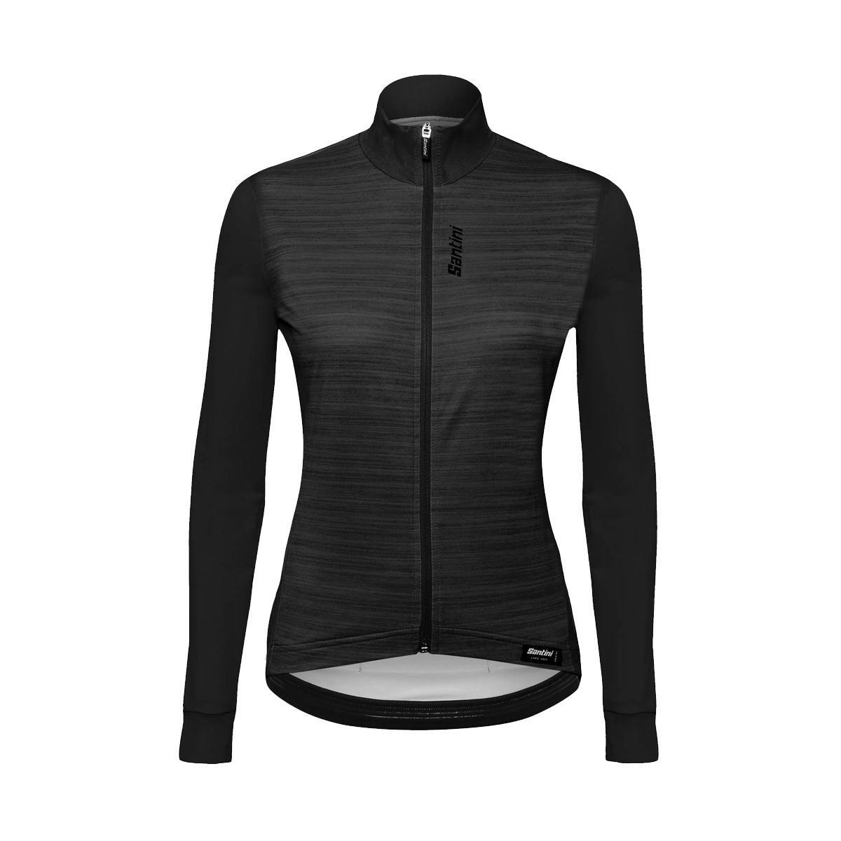 Amazon.com   Santini Black 365 Scia Womens Long Sleeved Cycling Jersey    Sports   Outdoors fda1ea4ce